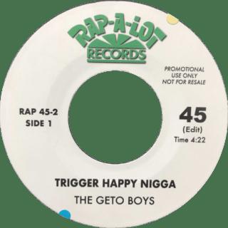 The Geto Boys Trigger Happy Nigga