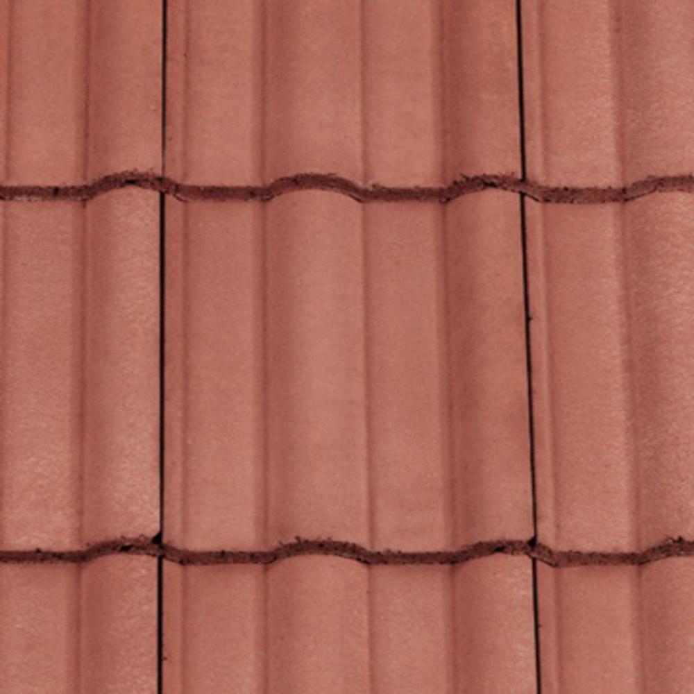 redland double roman tile terracotta