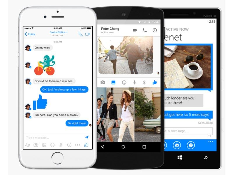 Facebook Messenger Launched for Windows 10 Mobile
