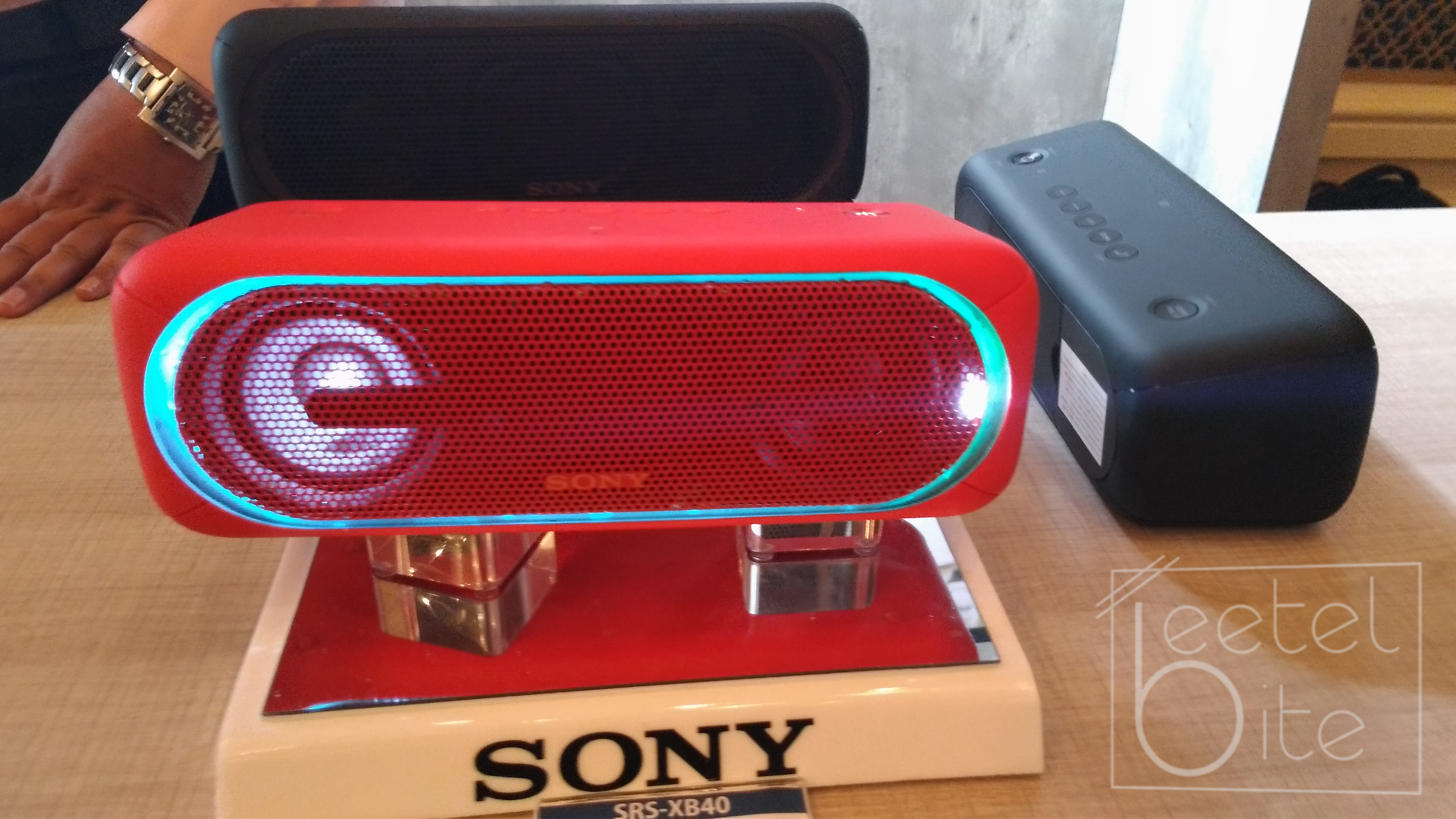 Sony Extra Bass wireless speakers
