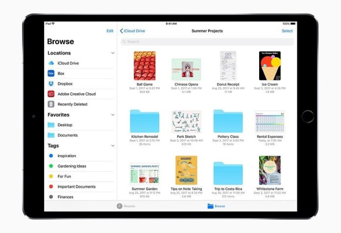 iOS 11 File Manager