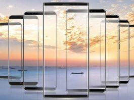 gionee bezel-less smartphones