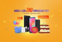 Honor Anniversary Sale