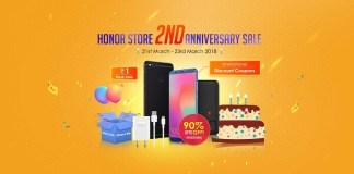 Honor Anniversary Sale