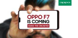 Oppo F7 teaser