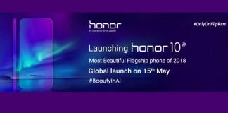 Honor 10 Flipkart banner