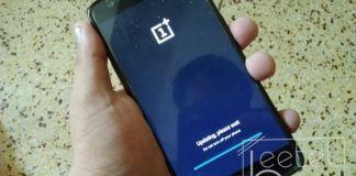 OnePlus 3T updating