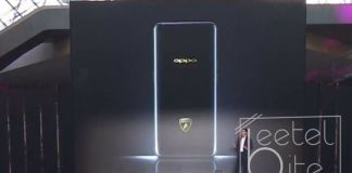 Oppo Find X Lamborghini version