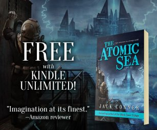 Ad for The Atomic Sea by Jack Conner