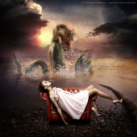 Dreams Of Nessie Photomanipulation