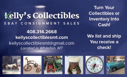 Kelly's Collectibles Ad