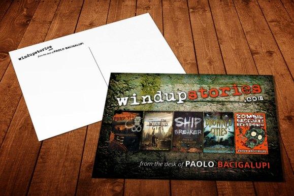 Paolo Bacigalupi Postcard