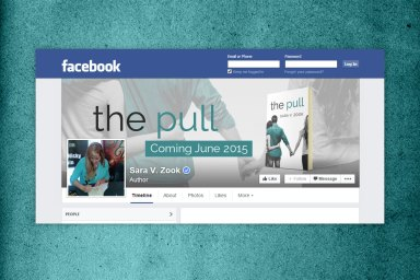 The Pull by Sara V. Zook - Facebook Cover Image
