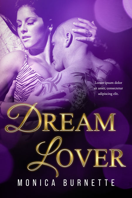 Dream Lover - Erotic Romance / Erotica Premade Book Cover For Sale @ Beetiful Book Covers