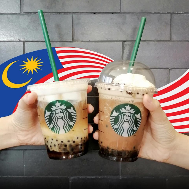 配合國慶日!Starbucks所有飲料買一送一!全馬分行都有!一定要去喝!
