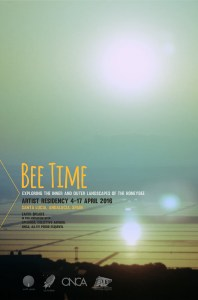 Residencia artística Bee Time #1, Primavera 2016 Santa Lucía