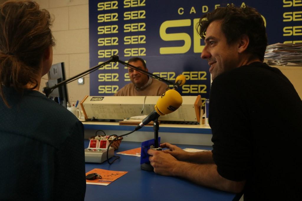 Entrevista al equipo Bee Time en Cadena Ser la Janda, Vejer de la Frontera