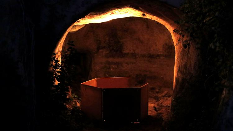 Sound installation by Tyler Lewis at the Miraflores water mill in Santa Lucia / A soundscape of our network of bee hives