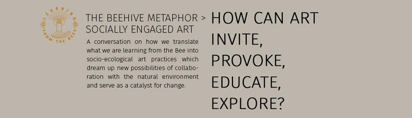 How can art invite, provoke, educate, explore?