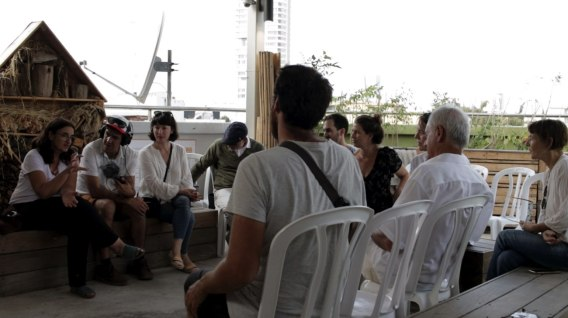 and us in an open talk with Dorit