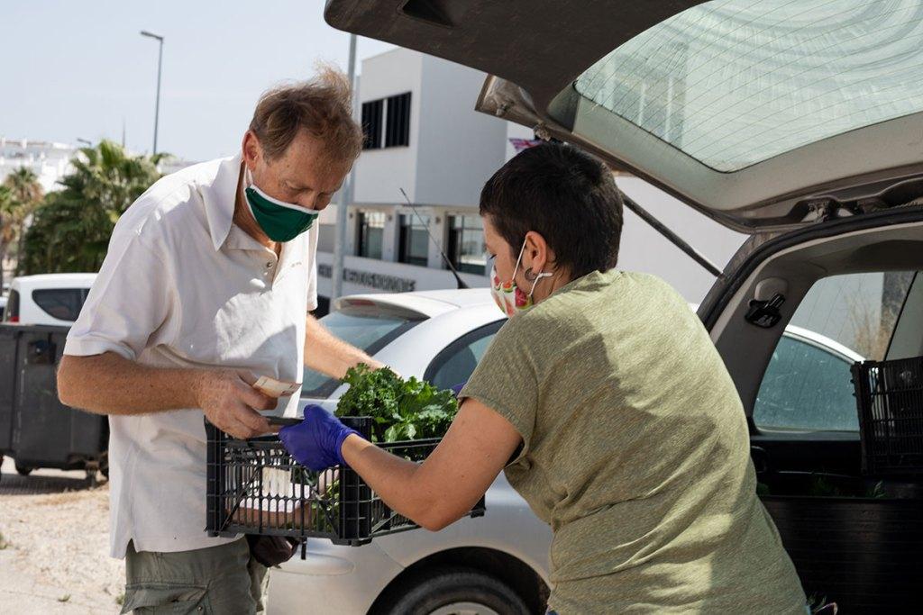 El proyecto 'Viviendo en el campo' de Olga Durán, cuidándonos con cariño con y sin pandemia.