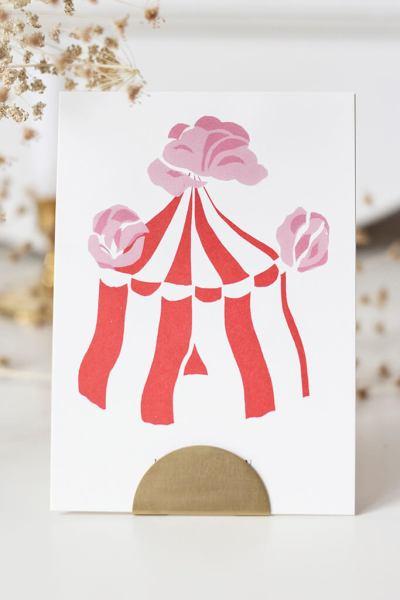 A lá circus kaart – BeetjeBrand