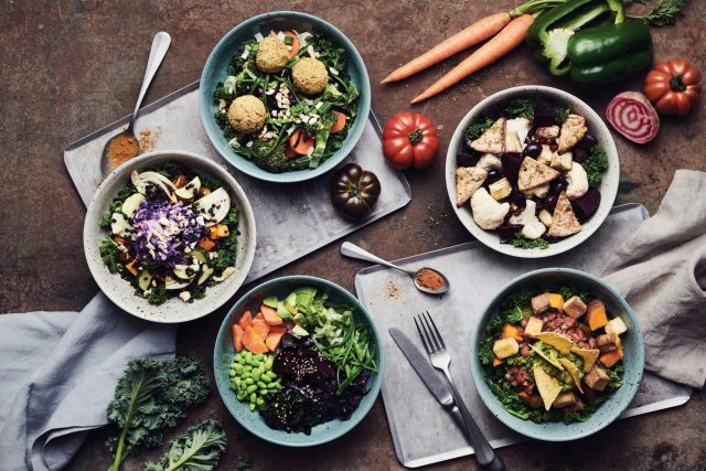 plantbased Bowls von BEETNUT