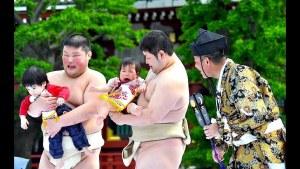 konaki sumo giappone piangere