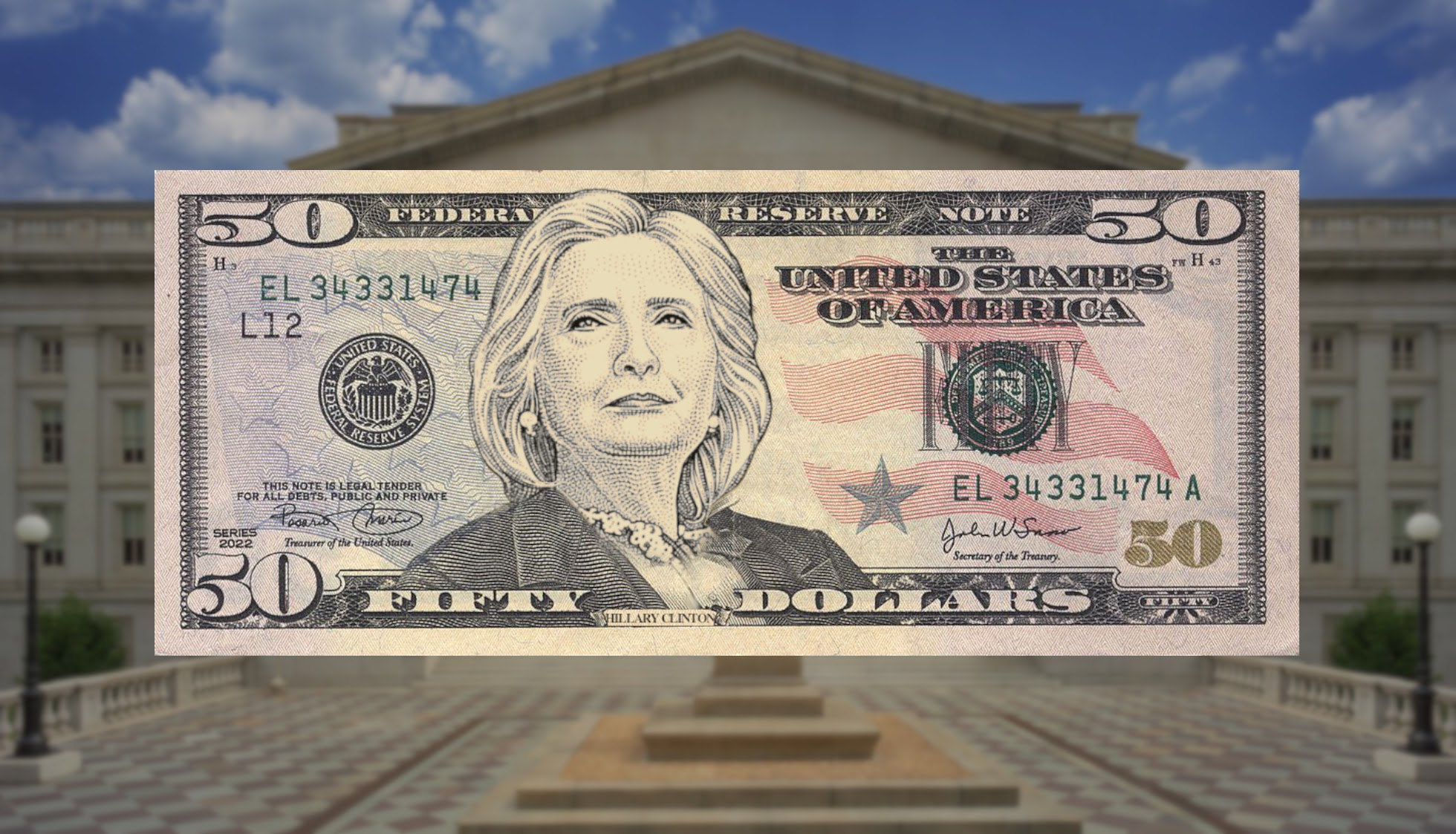 Hillary Clinton to be new face of $50 bill