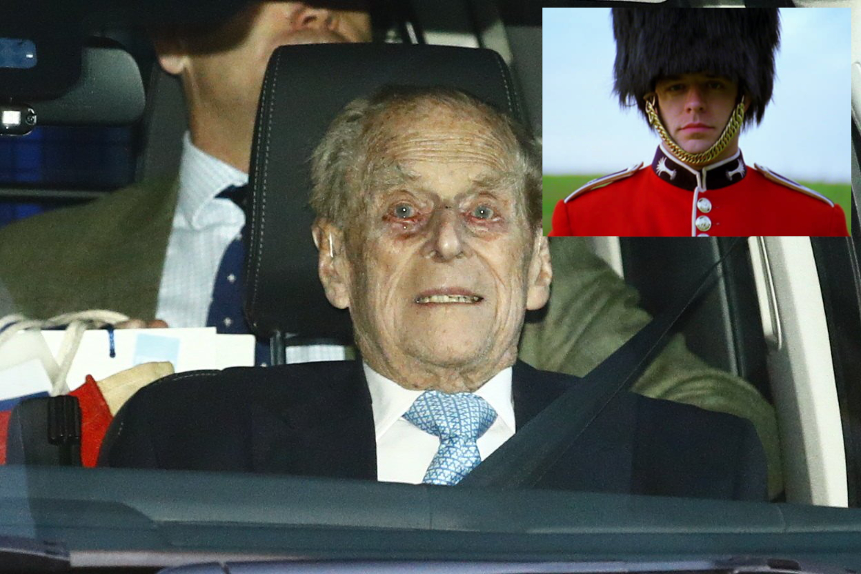 Prince Philip just napping, report embarrassed Palace guards