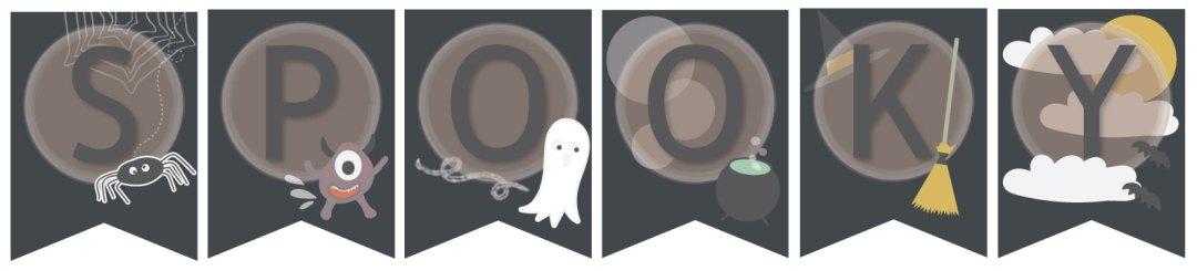 free printable halloween bunting ---> beetsandokra.com