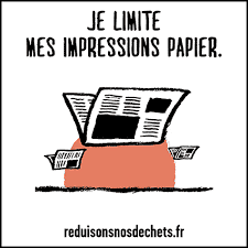 RSE Ne pas imprimer de documents inutilement