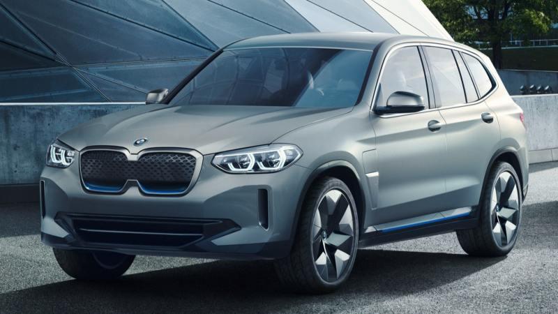 Voitures électriques 2020 : BMW IX3