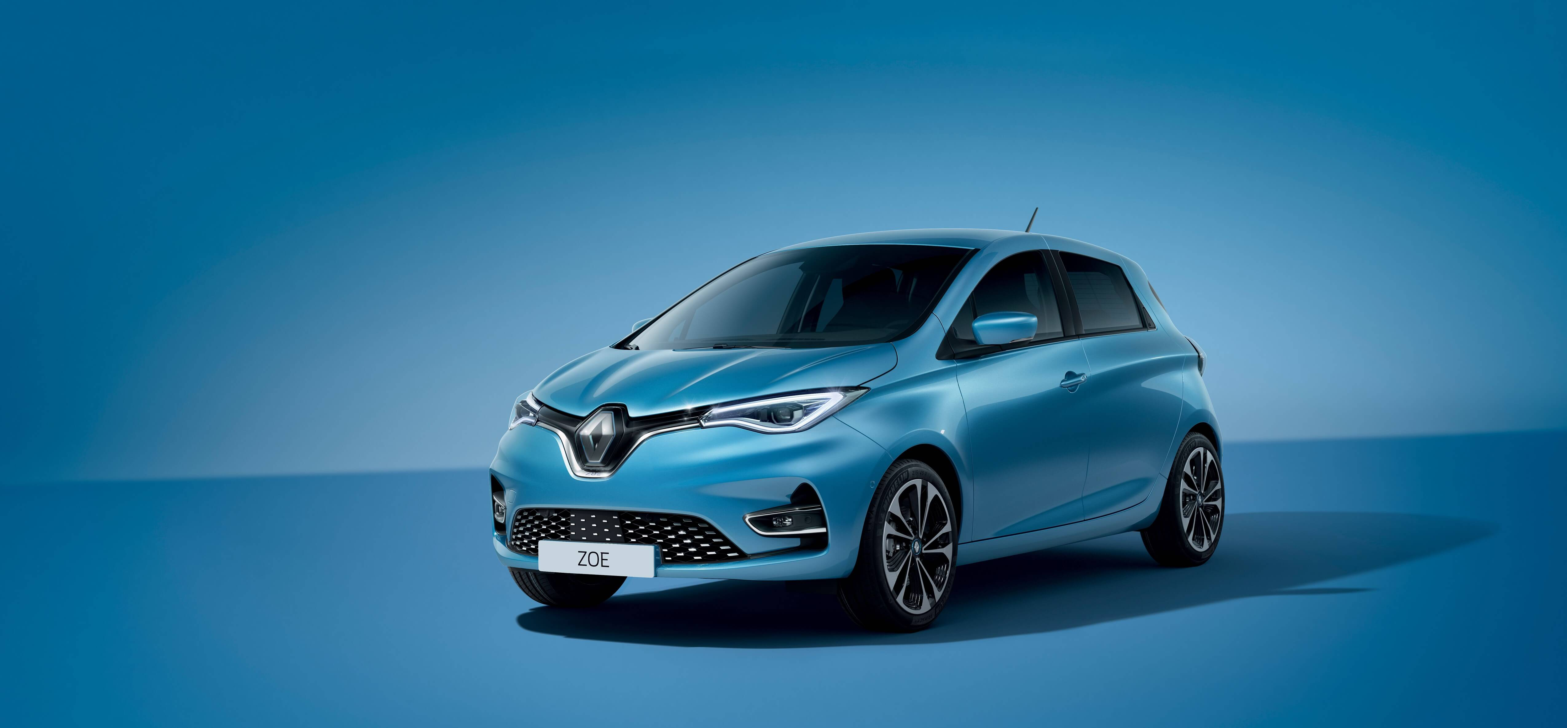 Renault Zoé ZE50 vue profil