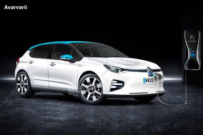 Voitures électriques 2020 : Citroën C4 EV