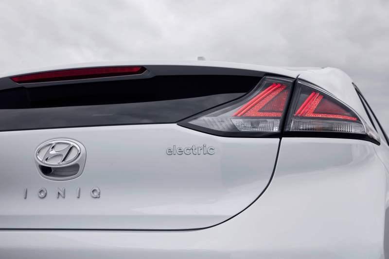 Hyundai IONIQ electric 38 kWh détail arrière