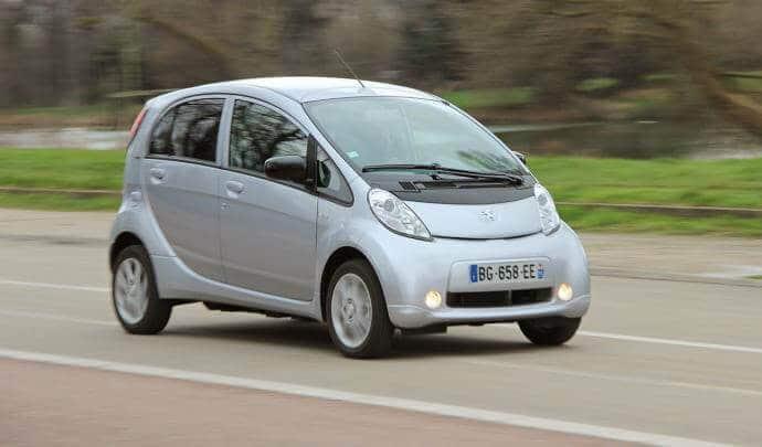 meilleure-voiture-électrique-occasion-Peugeot-iOn