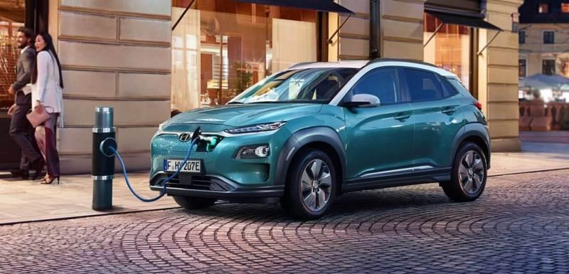 Les voitures électriques avec la meilleure autonomie Hyundai KONA Electric 64 kWh