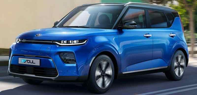 Les voitures électriques avec la meilleure autonomie Kia e-Soul 64 kWh