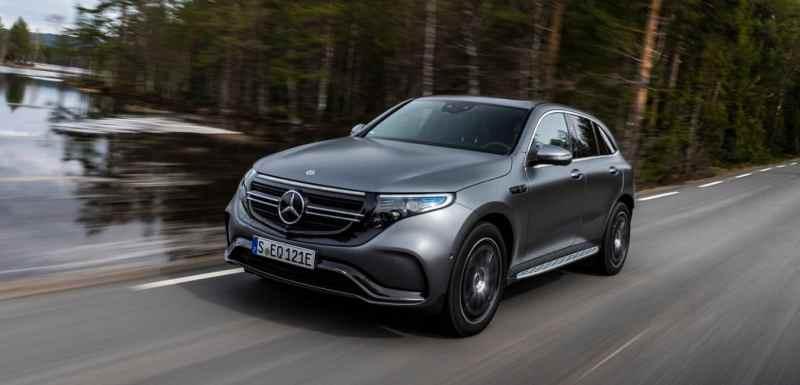 Les voitures électriques avec la meilleure autonomie Mercedes-Benz EQC 400 4MATIC