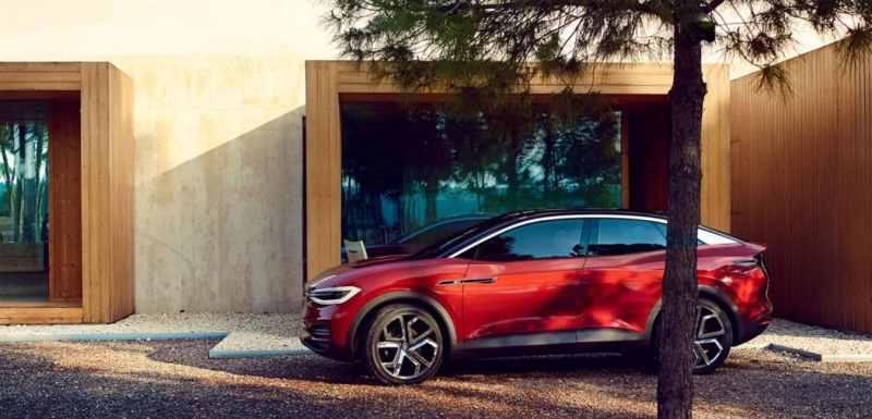 Les voitures électriques avec la meilleure autonomie Volkswagen I.D Crozz