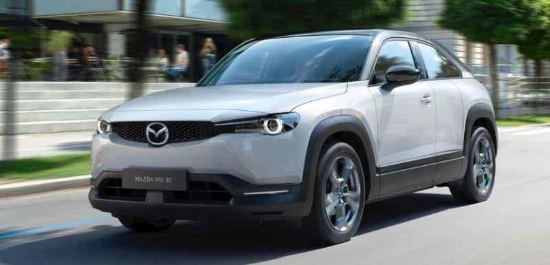 suv électriques Mazda MX-30