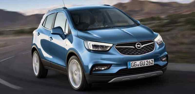 suv électriques Opel Mokka X électrique