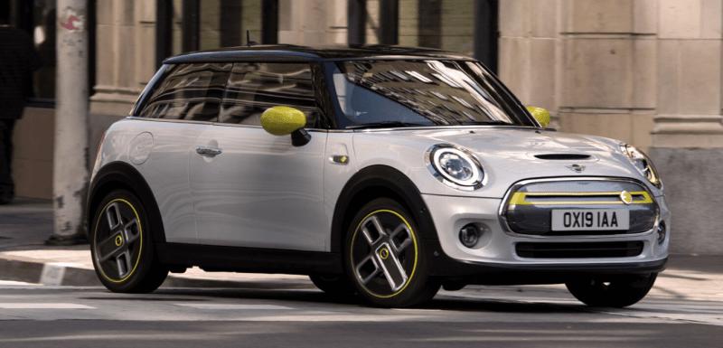 voitures électriques compactes Mini Cooper SE