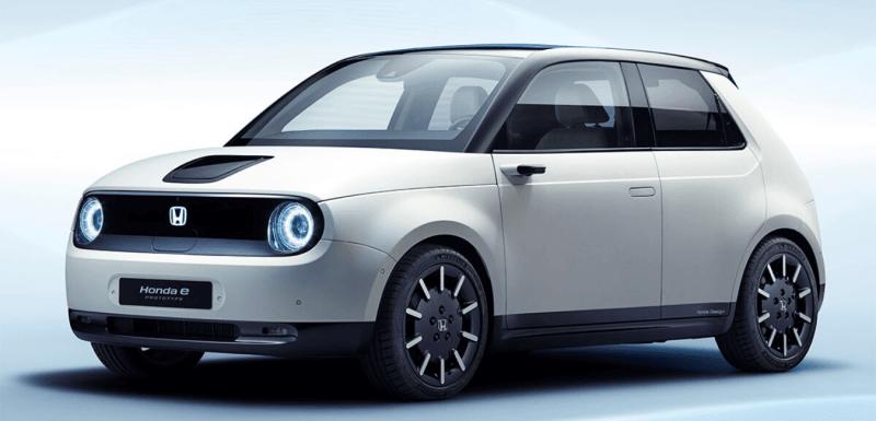 voitures électriques citadines honda e