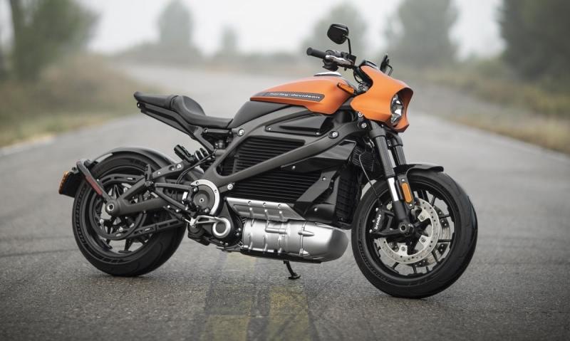 Meilleures motos électriques. : Harley Davidson LiveWire