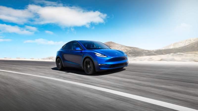 Tesla-Model-Y-SUV électriques