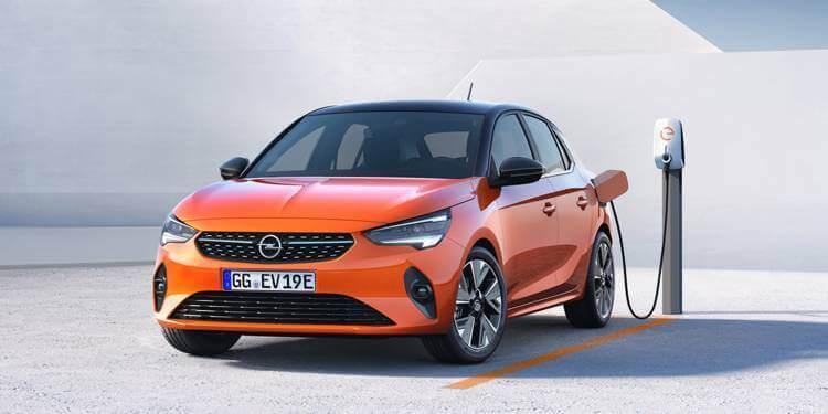 les voitures électriques les moins chères - opel corsa-e