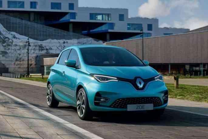 Renault-Zoe-voiture électrique française