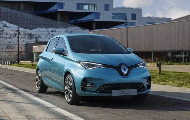 2020 renault zoe voitures électriques